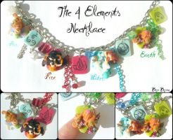 The Four Elements Necklace by Bojo-Bijoux