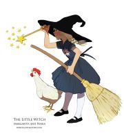 The Little Witch 2 A by Shricka