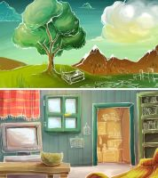 Background studies by EleonoraBertolucci