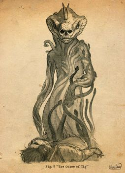 H.P. Lovecraft's Yig by calebcleveland
