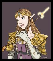 Princess Zelda - Revised by kristaia