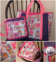 Sailor Moon Bag Set by Teena-Bee