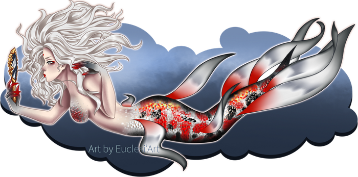 [Euclesiart] 20 Days Art Challenge Mermaid Day 2 by EuclesiArt