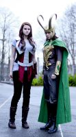 Loki and Sif - Cosplay by Mon-Kishu