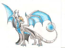 Wheatley goes Draconic by RobynTheDragon