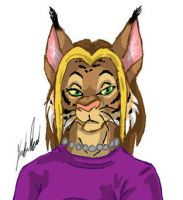 Cassidy, my lynx by whitewolf