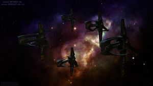 Brakiri Fleet by MrRonsfield