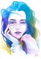 Emilia Clarke aka Mother of Dragons by Chenyi87