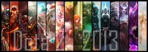 2013 Look back - Dota 2 art journey by TrungTH