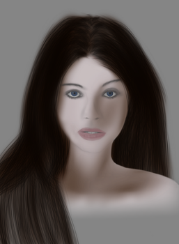 Drawing Michelle Trachtenberg by Materialize127