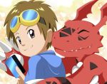 Takato and Guilmon by sara-chibi