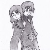 Commission: Yuki X Itachi by NikkiandMay