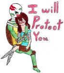 I Will Protect You by randomdrawerchic