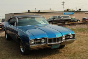 Blue Cutlass by KyleAndTheClassics