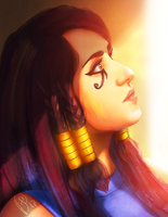 Pharah | Overwatch by ShAdiTOw40