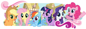 Mane 6 , Elements of Harmony by Anfrisiojunior