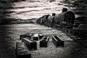 train cemetery by hexpion
