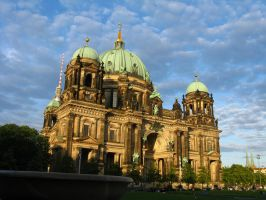 Berlin Cathedral - Berliner Dom by artlilac