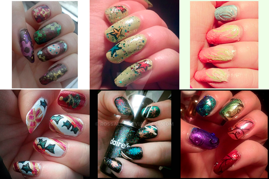 Nail art (part 12) by Rossally