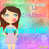 Chicles!para!dolls! by VikyTutos