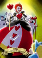 AiW - Queen of Hearts by liliacee