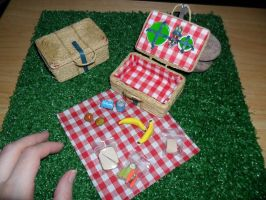 Picnic Baskets Scale 1:6 Complete by kayanah