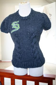 Final Slytherin Sweater by papilia