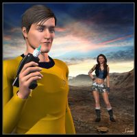 Not Just Any Starfleet Flyboy by celticarchie