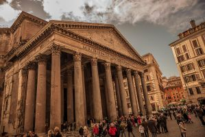 Pantheon - Rome by stevegek