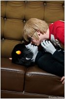 Homestuck: Unexpected Kiss by CosplayerWithCamera