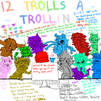 On the 12th day of trollmas my lusus gave to me.. by Raichufan1