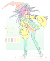 Witch Design by celiere