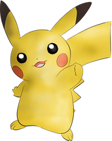 Pikachu. by untiscape