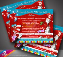 Dr. Seuss Invitation by AnotherBcreation