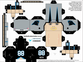 Greg Olsen Panthers Cubee by etchings13