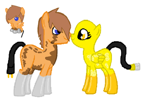 (Breedable) Geri x Butter Bright by SalkiNeoDucky