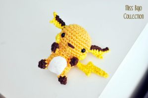 Raichu pokemon by MissBajoCollection