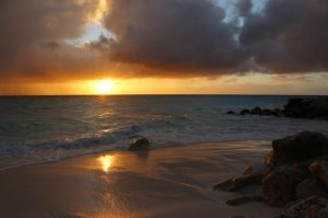 Aruban Sunset 2 by Cheryl-P
