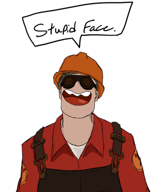 [engi] Stupid Face by Magical-Bonk