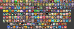 216 Character Smash Bros. Roster by ibetnoonethoughtofth