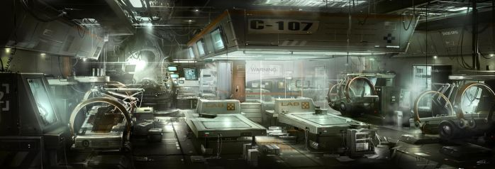 Lab_Room_restricted_Area Deus Ex 3 DLC by Gryphart