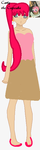 Carly the Cupcake (Updated design) by lillybug03