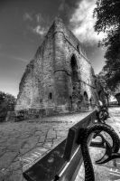 Bench and Castle by GaryTaffinder