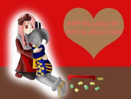 Happy Valentine day Muffin by YingYang-girl