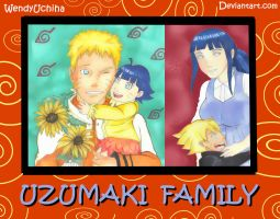 The new Uzumaki Family! by WendyUchiha