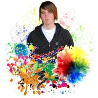 Shane Dawson Paint Splatters by Ally13524