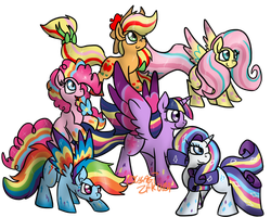 RAINBOW POWER by Usagi-Zakura