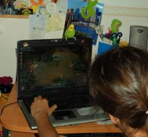 Playing Lol with Kiara by AgapitoDiSousa
