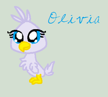 LPS OC- Olivia the ostrich by LittleSnowyOwl