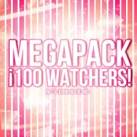 +Megapack: 100 Watchers by Imstuckinwonderland